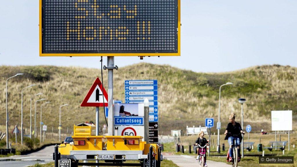 تشویق هلند برای ماندن در خانه در دوران کرونایی